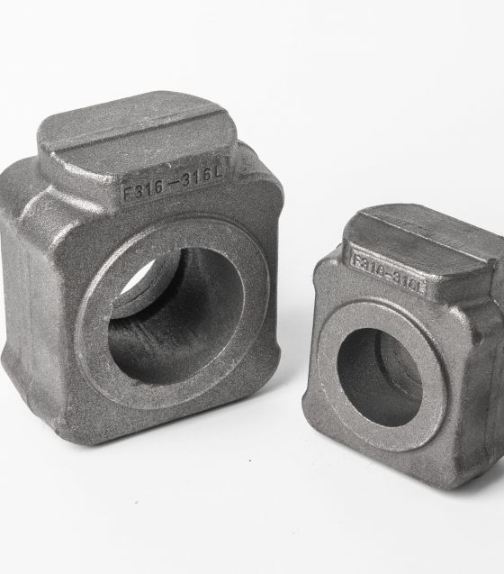 Hot forging of valve parts and components